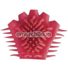 Купить Перчатка для массажа Tickly Touch, красная