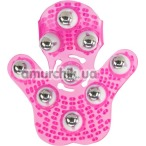 Универсальный массажер Simple & True Roller Balls Massager, розовый - Фото №1