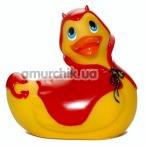 Клиторальный вибратор I Rub My Duckie Red Devil, желтый - Фото №1