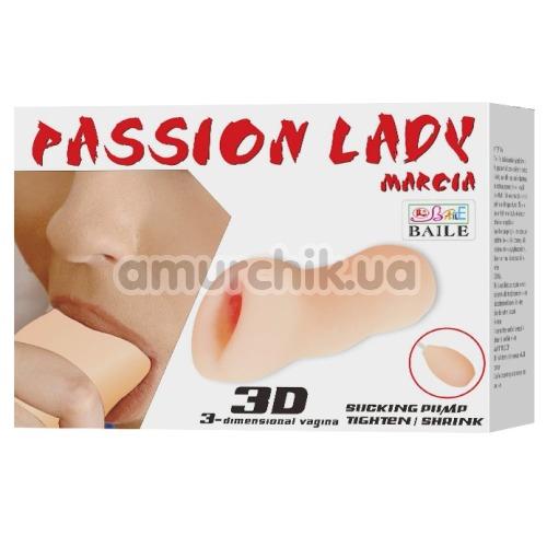 Искусственная вагина Passion Lady Marcia 009179Q, телесная