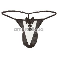 Трусы-стринги мужские Herren String 2180332, черные