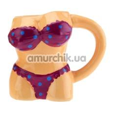 Чашка Пляжная вечеринка, фиолетовая - Фото №1