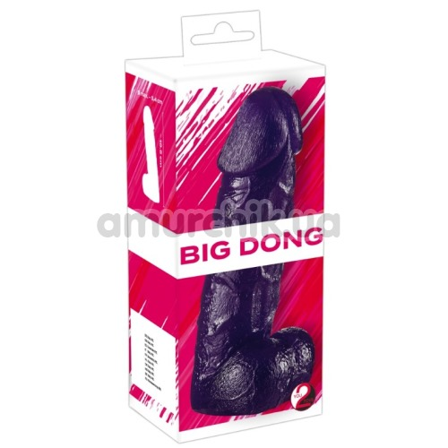 Фаллоимитатор Big Dong, фиолетовый