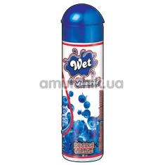 Лубрикант Wet Flavored Wild Blueberry 100 g - Фото №1