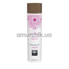 Массажное масло Shiatsu Body Oil Indian Rose & Almond - индийская роза и миндаль, 100 мл - Фото №1