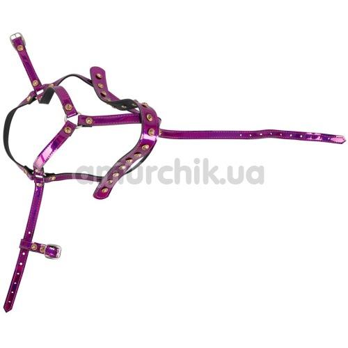 Упряжь Bad Kitty Naughty Toys Harness, розовая
