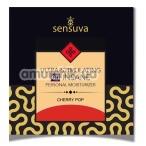 Лубрикант с эффектом вибрации Sensuva Ultra-Stimulating On Insane Cherry Pop - вишневая газировка, 6 мл - Фото №1
