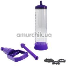 Вакуумная помпа Sexus Men Ereсtion, фиолетовая