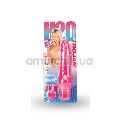 Вибратор H2O Wet Vibe Trojan розовый