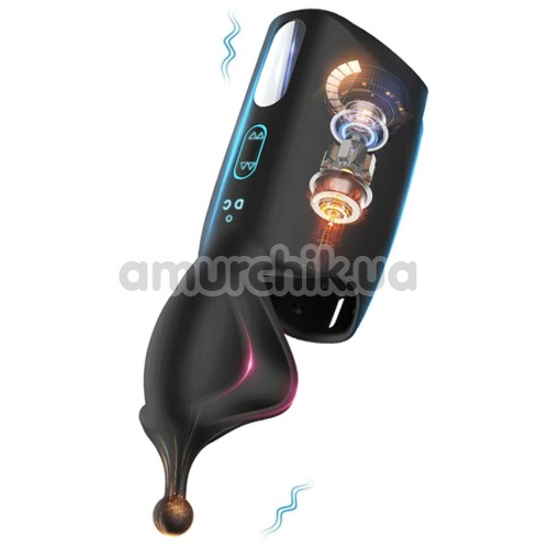 Мастурбатор с вибрацией Masturbator MA-Alice, черный