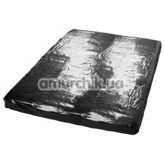 Лаковая простыня Orgy Spannbettlaken, черная - Фото №1