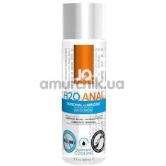Анальный лубрикант JO Anal H2O Cool с охлаждающим эффектом, 60 мл - Фото №1