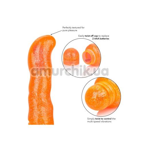 Вибратор для точки G Sparkle G Dazzle, оранжевый