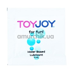Лубрикант Toy Joy For Fun Water Based Lubricant, 4 мл