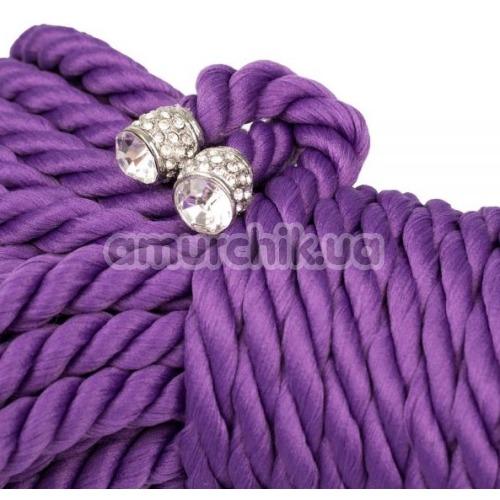 Веревка sLash Premium Silky 5м, фиолетовая