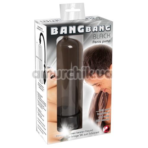 Вакуумная помпа Bang Bang Penispump, черная