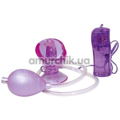 Вакуумная помпа для вагины с вибрацией Vagina Kiss - Фото №1