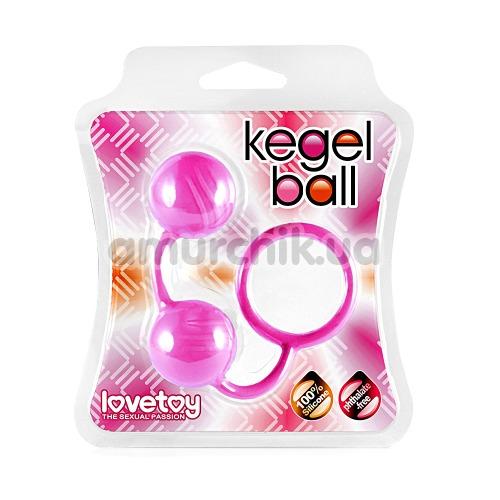 Вагинальные шарики Lovetoy Kegel Ball, розовые