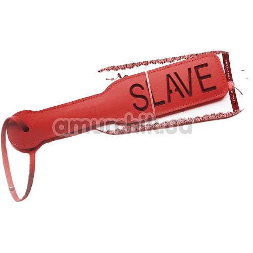 Шлепалка Пикантные Штучки Slave, красная