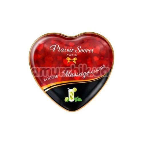 Массажная свеча Plaisir Secret Paris Bougie Massage Candle Mojito - Мохито, 35 мл