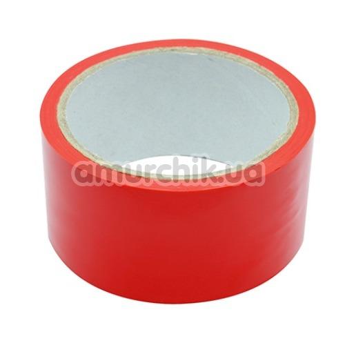 Бондажная лента Blaze Luxury Fetish Bondage Tape 18 Meter, красная - Фото №1