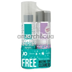 Набор JO Limited Edition Promo Pack: JO Women Agape + JO Misting Fresh Scent Toy Cleaner - Фото №1