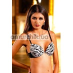Бюстгальтер Zebra-Black Push-Up Bra (модель B082) - Фото №1