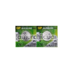 Батарейки GP Alkaline Cell LR44, 2 шт