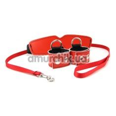 Купить Бондажный набор Sex & Mischief Red Bondage Kit, красный