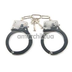 Купить Наручники Metal Hand Cuffs, серебряные