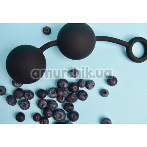 Анальные шарики Tom of Finland Weighted Anal Balls, черные
