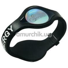Эрекционное кольцо Smile Power Ring, черное - Фото №1