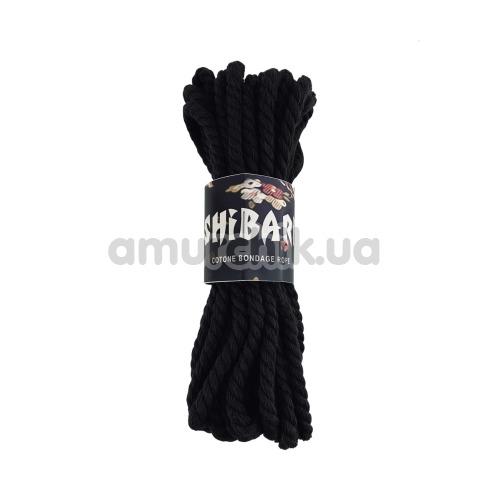 Веревка Feral Feelings Shibari 8м хлопковая, черная - Фото №1