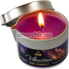 Свеча Amor Vibratissimo S/M Candle Crazy Purple, 50 мл - Фото №1