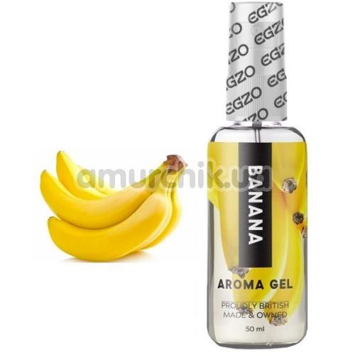 Оральный лубрикант EGZO Aroma Gel Banana - банан, 50 мл