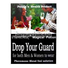Микс феромонов Drop Your Guard 5 мл для мужчин и для женщин - Фото №1