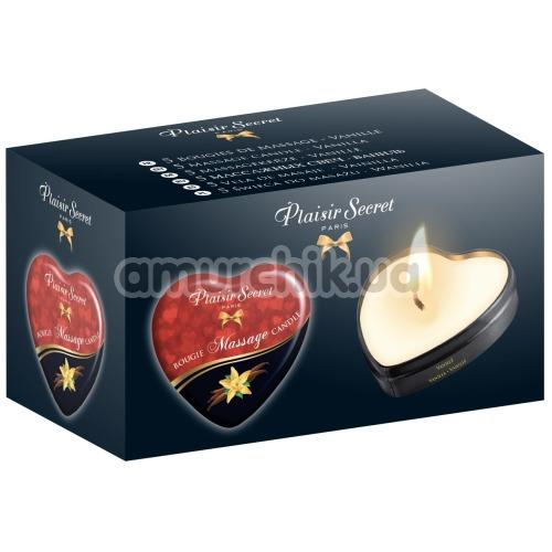 Массажная свеча Plaisir Secret Paris Bougie Massage Candle Vanilla - ваниль, 35 мл
