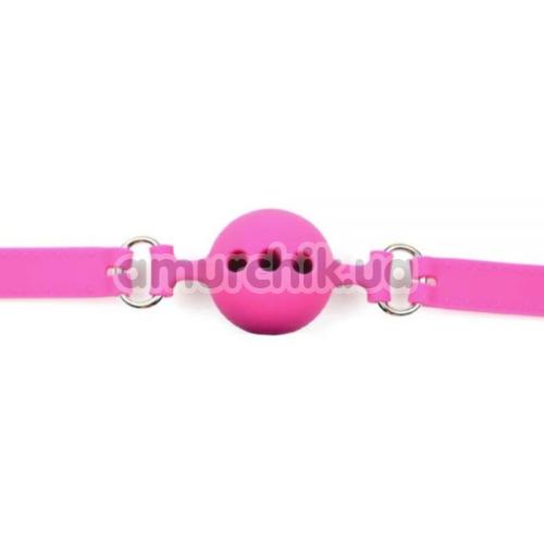 Кляп Loveshop Silicone Luxury Fetish, розовый