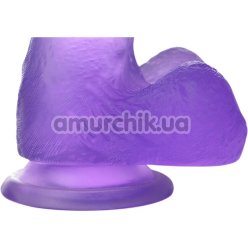 Фаллоимитатор Jelly Studs Small, фиолетовый