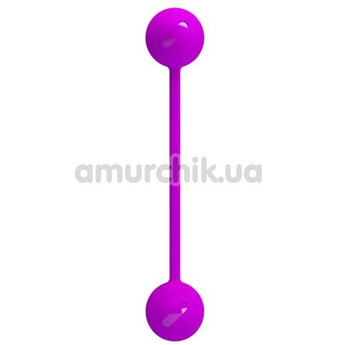 Вагинальные шарики Pretty Love Kegel Ball III, фиолетовые