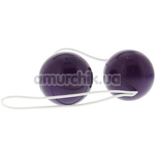 Вагинальные шарики Vibratone Unisex Duo Balls фиолетовые