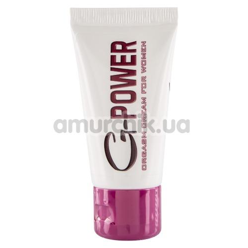 Возбуждающий крем G-power Orgasm Creme For Women, 30 мл
