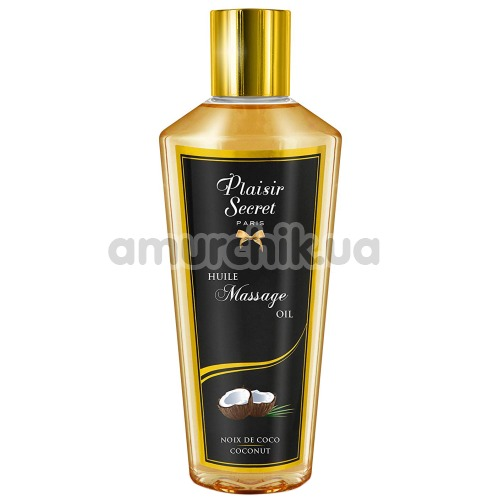 Массажное масло Plaisir Secret Paris Huile Massage Oil Coconut - кокос, 250 мл