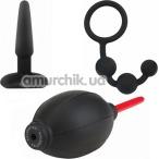 Набор из 3 предметов Malesation Anal Starter Set, чёрный