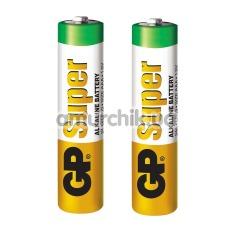 Батарейки GP Alkaline Super 24A-S2 АAA, 2 шт - Фото №1