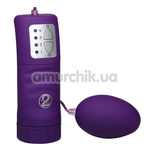 Виброяйцо Velvet Pill фиолетовое - Фото №1
