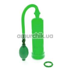 Помпа для увеличения пениса Extreme Enlargement Pump, зеленая - Фото №1