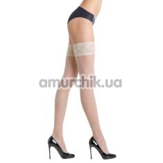 Чулки Gabriella Erotica Calze Classic, белые - Фото №1