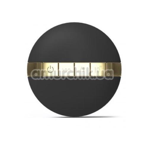 Вибростимулятор простаты с подогревом Dorcel P-Finger, черный