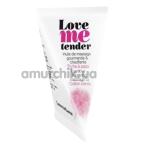 Массажное масло с согревающим эффектом Love To Love Me Tender Cotton Candy - сахарная вата, 10 мл - Фото №1